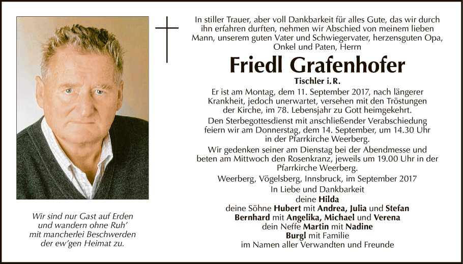 Friedl Grafenhofer