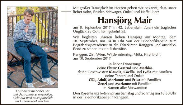 Hansjörg Mair