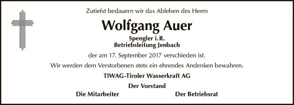 Wolfgang Auer