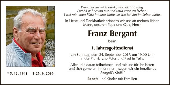 Franz Bergant