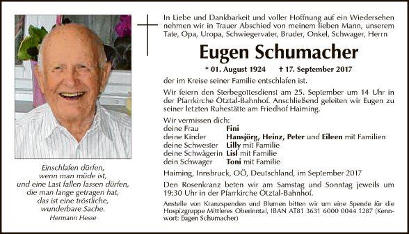 Eugen Schumacher