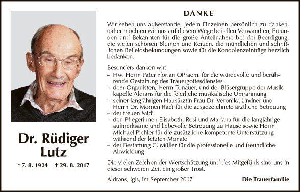 Dr. Rüdiger Lutz