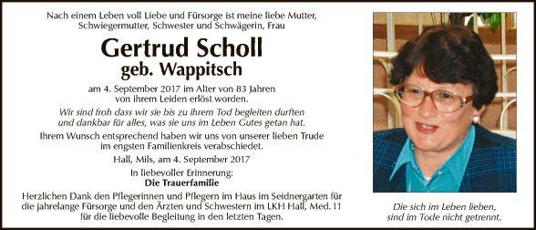 Gertrud Scholl