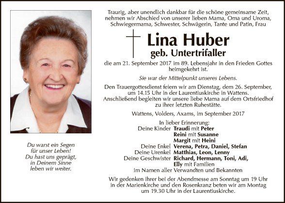 Lina Huber