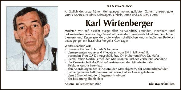 Karl Wirtenberger