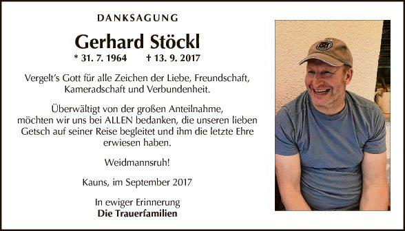 Gerhard Stöckl