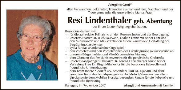 Resi Lindenthaler