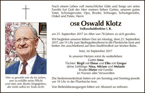 Oswald Klotz