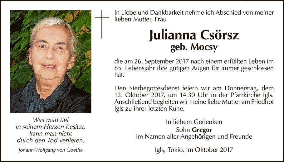 Julianna Csörsz