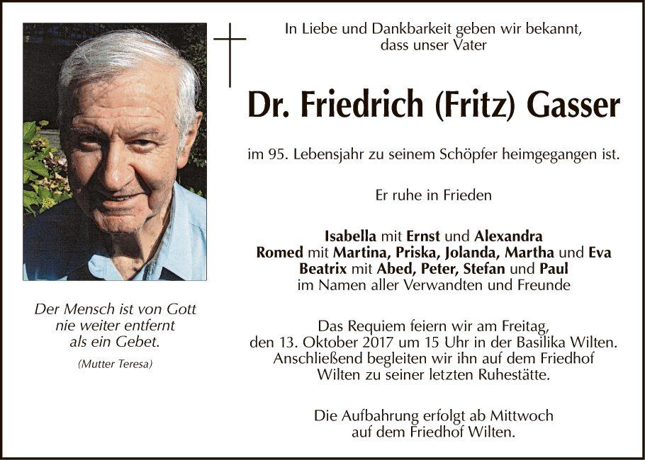 Friedrich Gasser