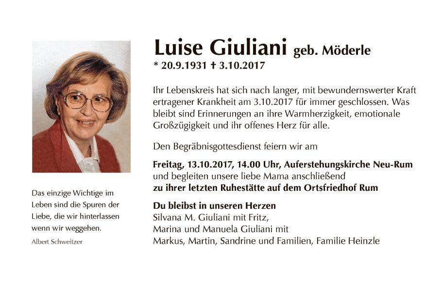 Luise Giuliani