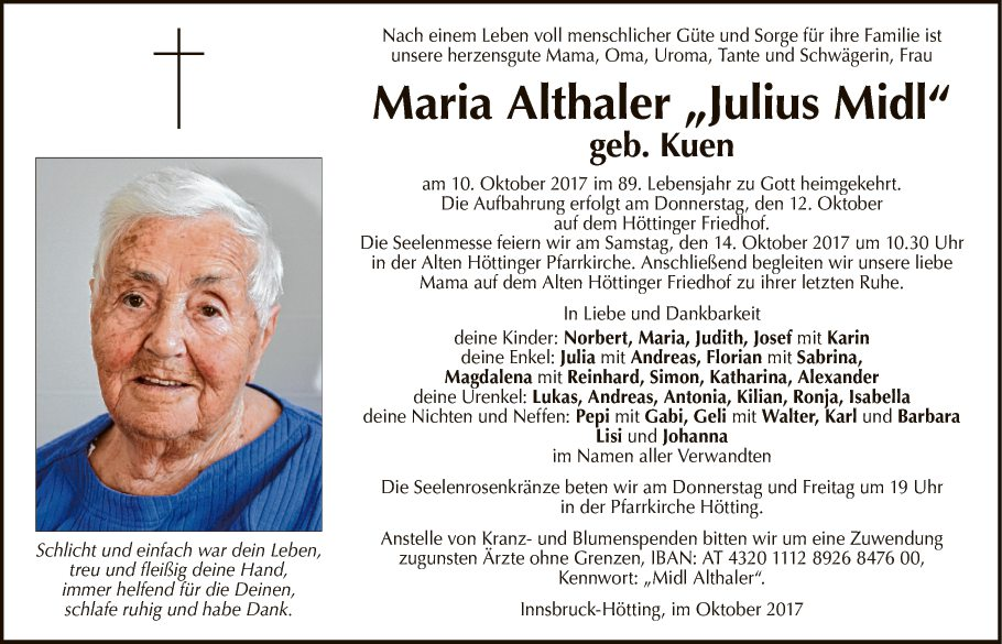 Maria Althaler