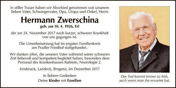 Hermann Zwerschina