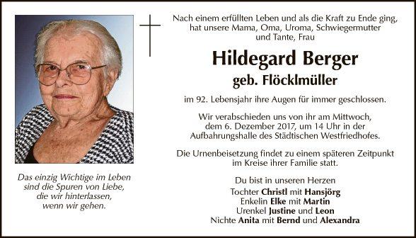Hildegard Berger