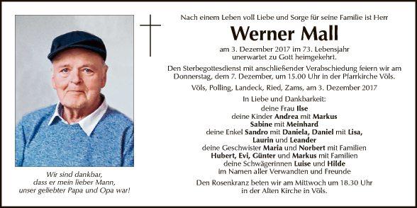 Werner Mall