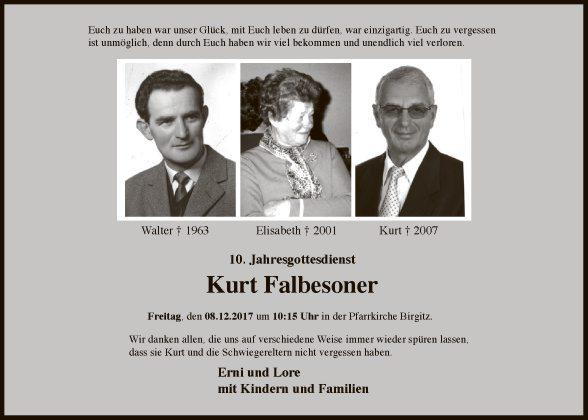 Kurt Falbesoner