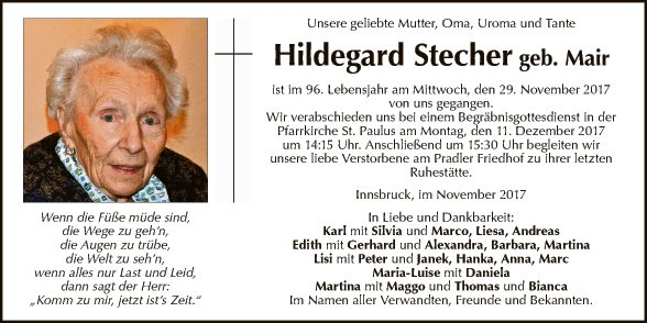 Hildegard Stecher