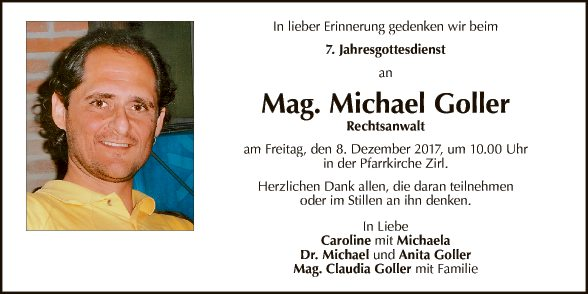 Mag. Michael Goller