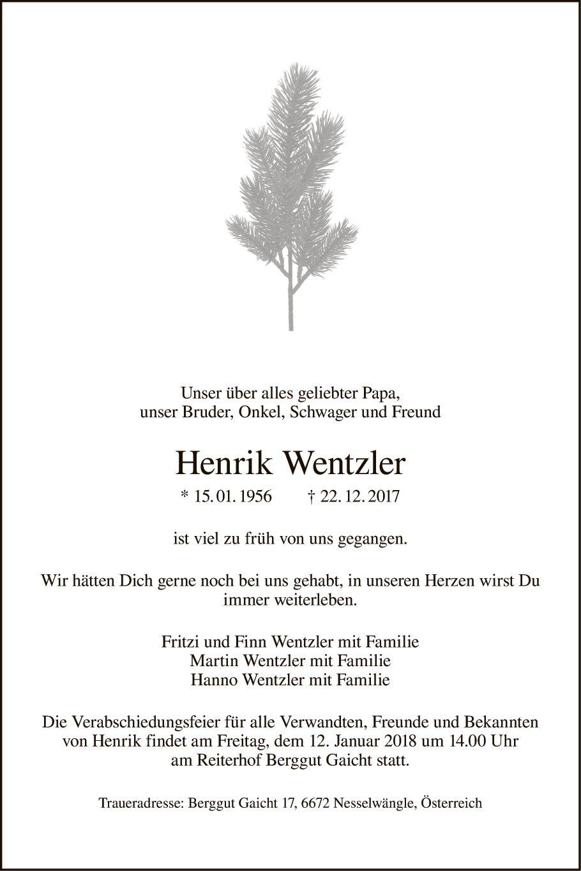 Henrik Wentzler