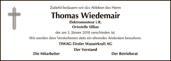 Thomas Wiedemair