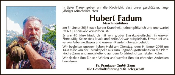 Hubert Fadum