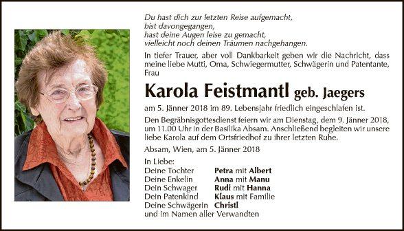 Karola Feistmantl