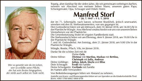 Manfred Storf