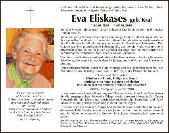 Eva Eliskases