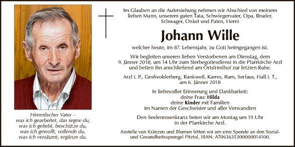 Johann Wille
