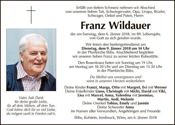Franz Wildauer