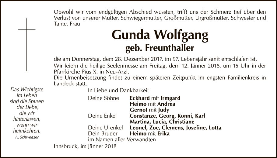 Gunda Wolfgang