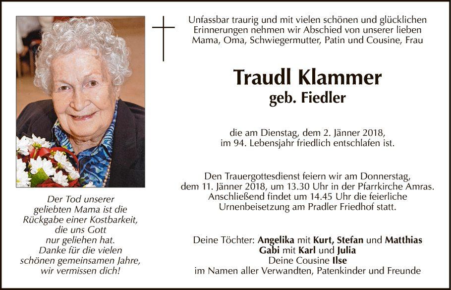 Traudl Klammer