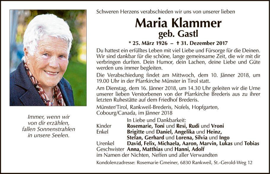 Maria Klammer