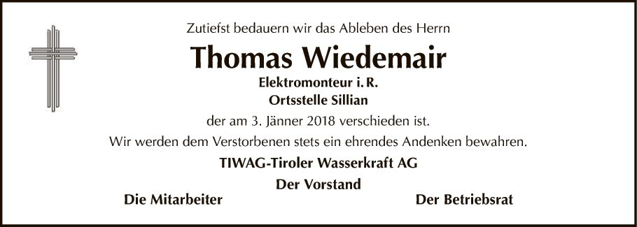 Thomas Wiedemair