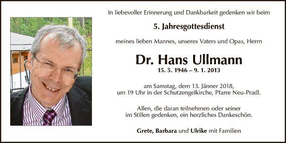 Dr. Hans Ullmann