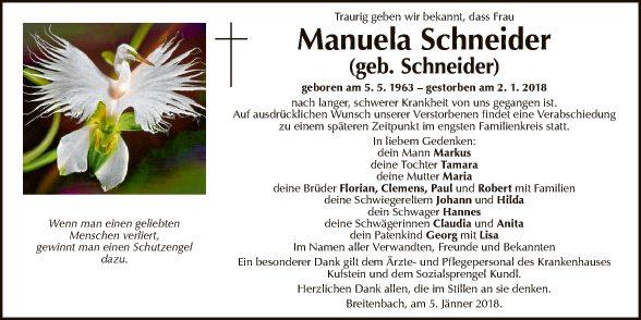 Manuela Schneider