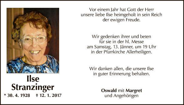 Ilse Stranzinger