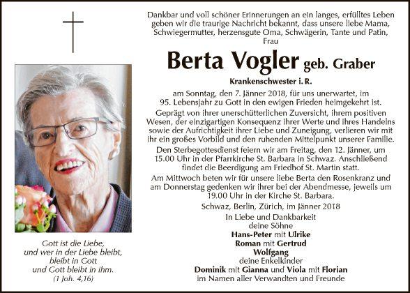 Berta Vogler