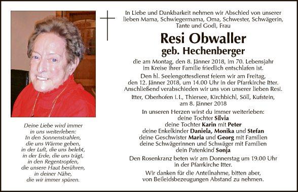 Theresia Obfaller