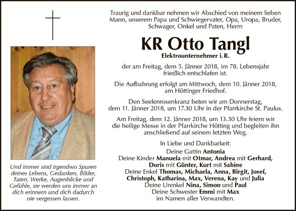 KR Otto Tangl