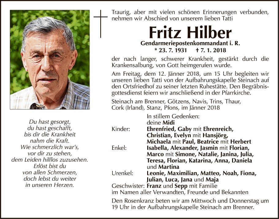 Fritz Hilber