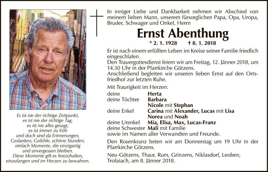 Ernst Abenthung