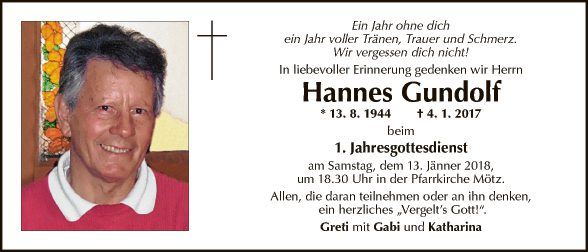 Hannes Gundolf