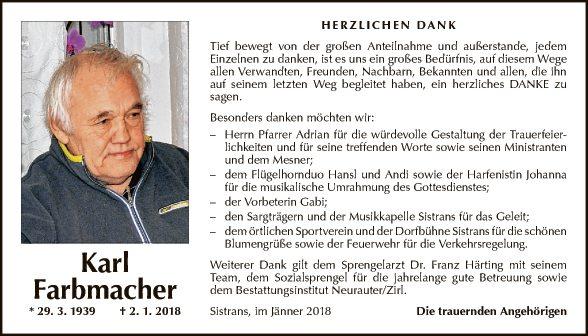 Karl Farbmacher