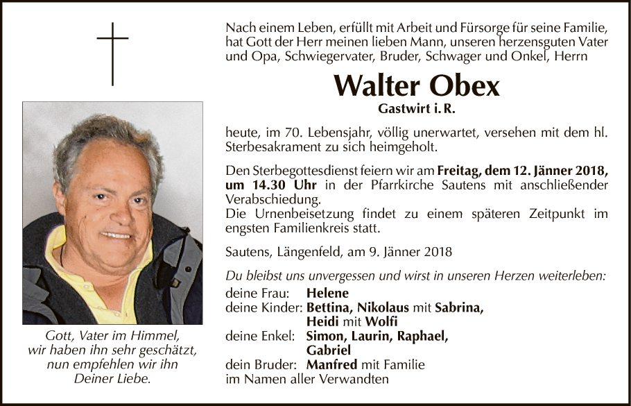 Walter Obex