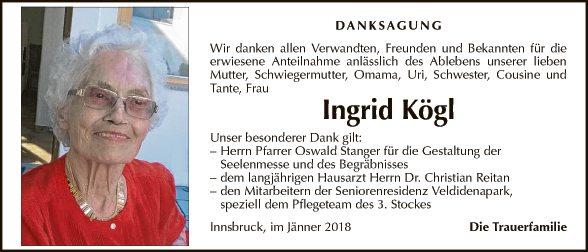 Ingrid Kögl