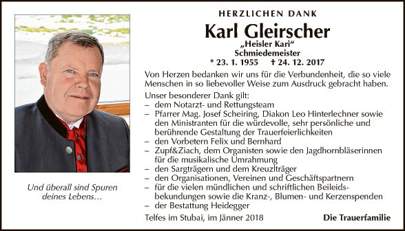 Karl Gleirscher