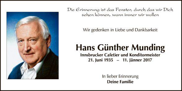 Hans Günther Munding