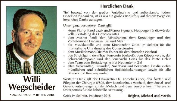 Willi Wegscheider