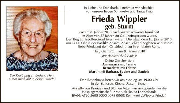 Frieda Wippler